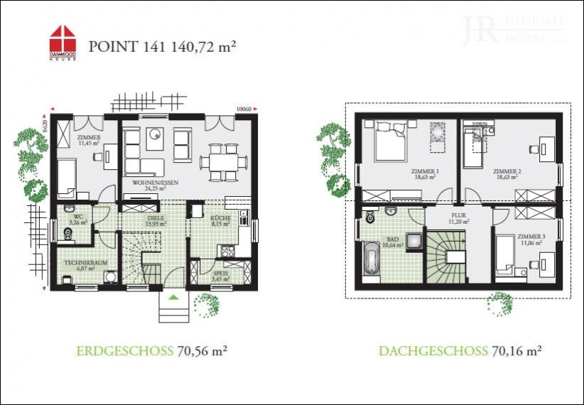 Point 141 - Grundriss