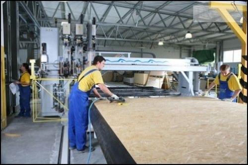 Danwood Produktionshalle