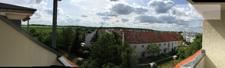Panorama vom Balkon