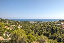 Meerblick in Costa den Blanes