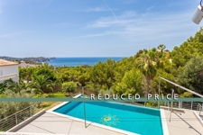 Price reduction luxury villa with pool and sea view in Costa de la Calma