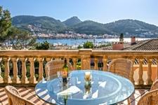 Terrasse mit traumhaften Blick Puerto de Andratx