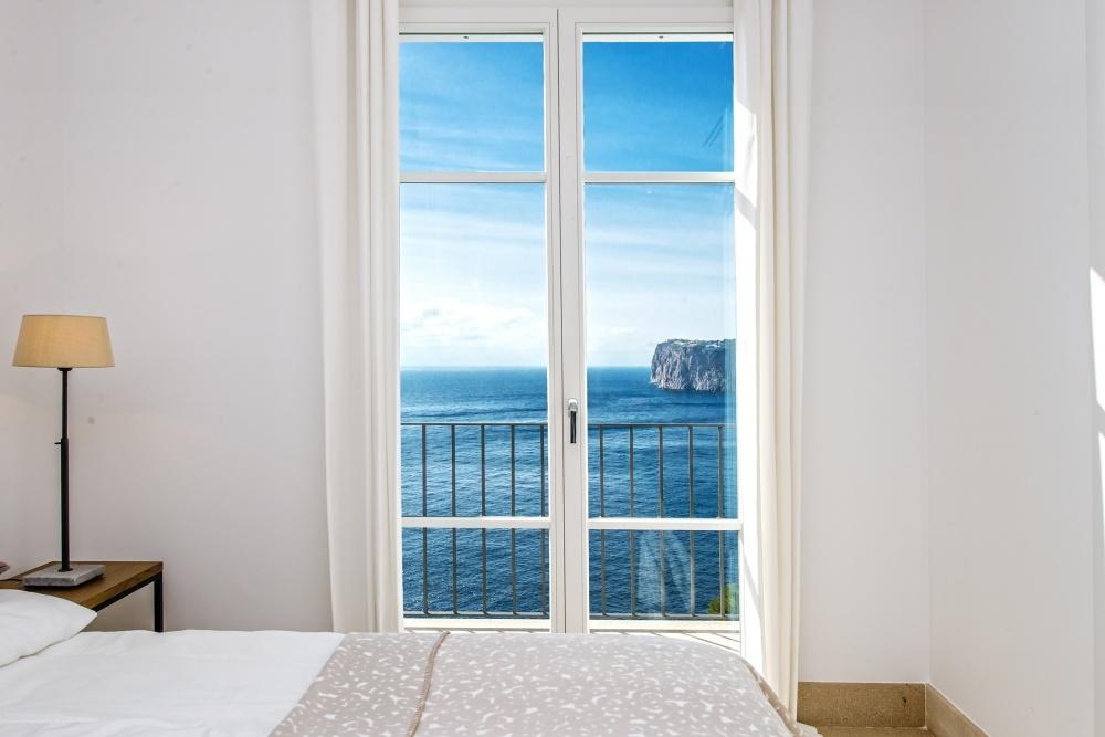 Schlafzimmer mit Meerblick Villa Port Andratx