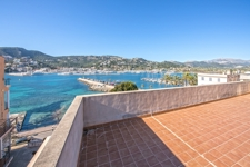 Terrasse mit Hafenblick Investment Port Andratx