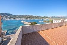 Terrasse mit Hafenblick Investment Port Andratx
