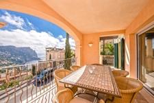 Traumhafte überdachte Terrasse mit Meerblick Wohnung Puerto de Andratx