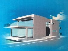 Modern luxury villa in first linea