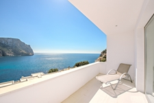 Terrasse mit Meerblick Apartment Port Andratx