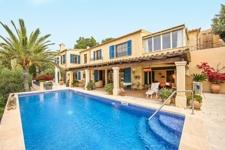 Mediterrane Meerblick Villa mit Pool Port Andratx