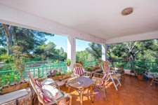Terrasse mit Meerblick in Costa den Blanes Investitionsobjekt