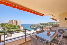 Meerblick Terrasse Cala Vinyas Wohnung Mallorca