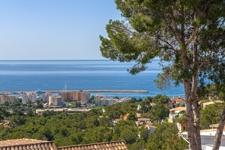 Sea views from Costa den Blanes villa for sale