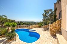 Portals Nous Villa mit privaten Pool und Meerblick