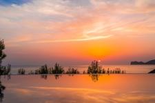 Sonnenuntergang Villa in 1. Meereslinie Port Andratx