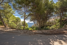 Sea view plot in Cala Vinyas for sale