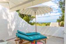 Sea view terrace in Sol de Mallorca townhouse
