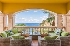 Terrasse mit Blick auf Dragonera Villa Port Andratx
