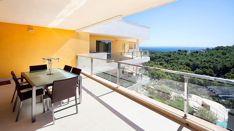 Penthouse with fantastic sea views in Floresta del mar