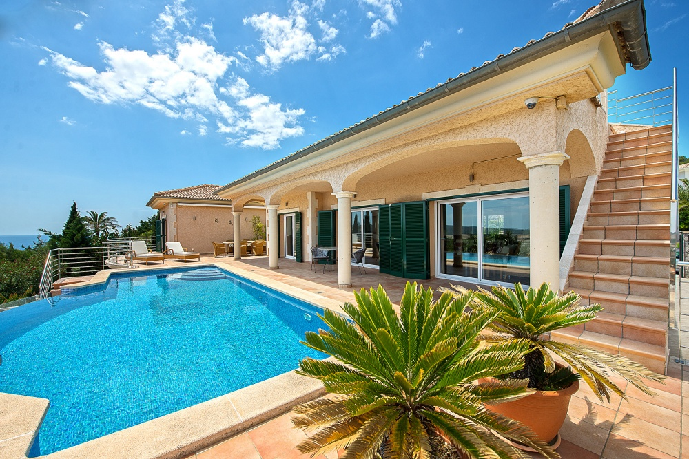 Villa with panoramic views - Nova Santa Ponsa