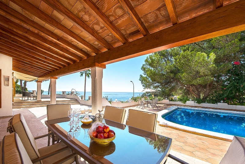 Spacious sea view villa in Sol de Mallorca