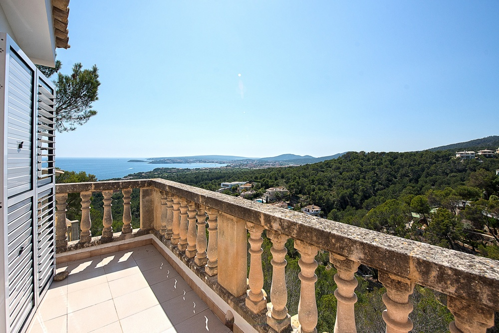 Charming villa with beautiful sea views in Costa den Blanes