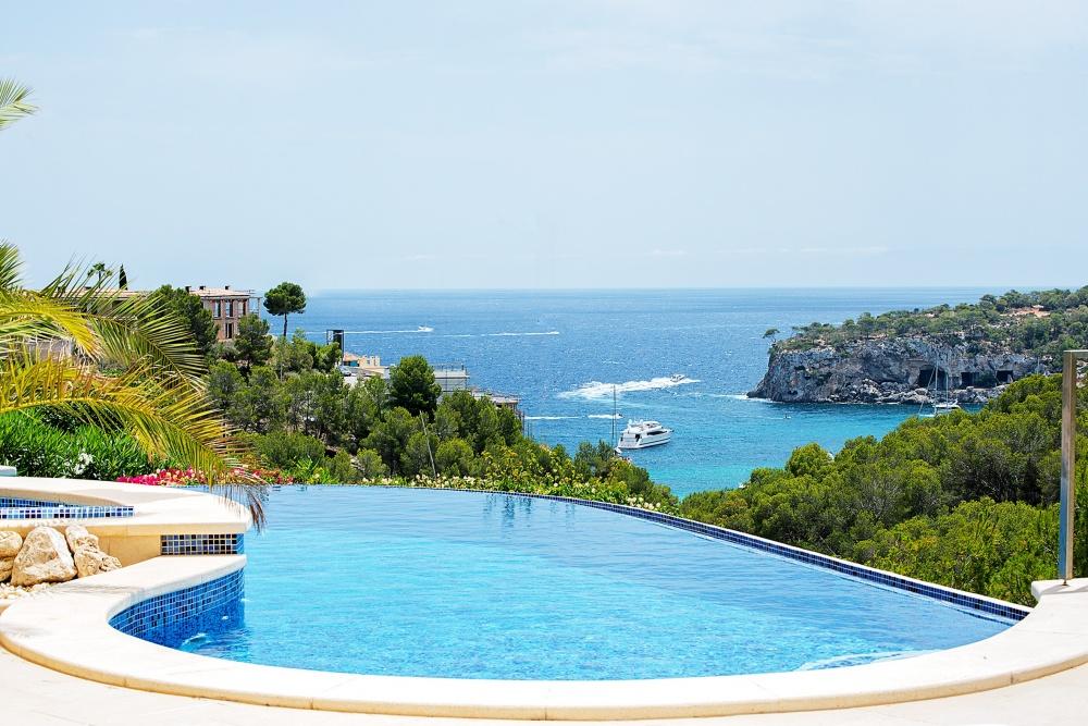 Newly-built Medierranean sea view villa in Sol de Mallorca
