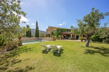 2 Idyllically located finca with mountain views, large garden and pool near Calvià