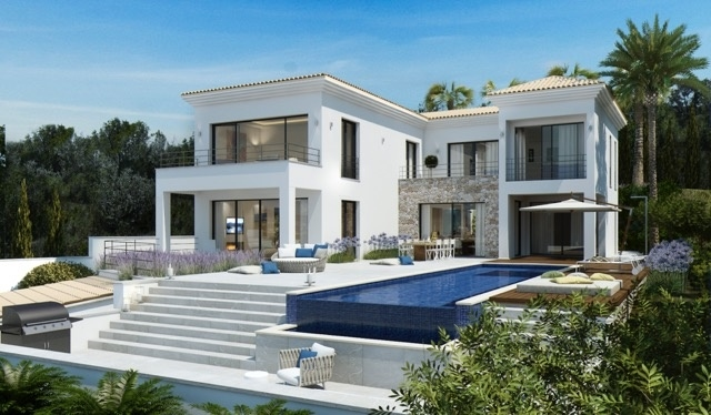 2 Newly built villa with breathtaking sea views in Nova Santa Ponsa