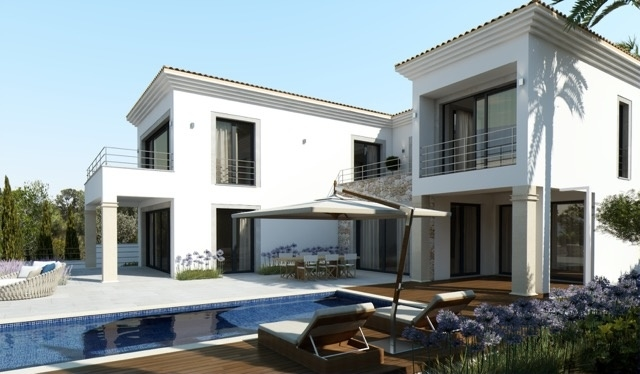 3 Newly built villa with breathtaking sea views in Nova Santa Ponsa