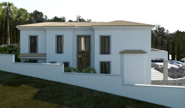 4 Newly built villa with breathtaking sea views in Nova Santa Ponsa