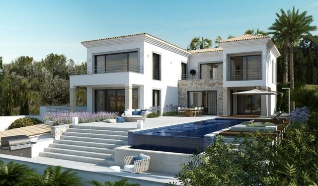 8 Newly built villa with breathtaking sea views in Nova Santa Ponsa