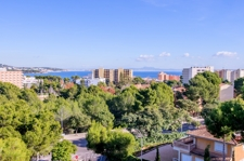 vistas al mar desde chalet Palmanova