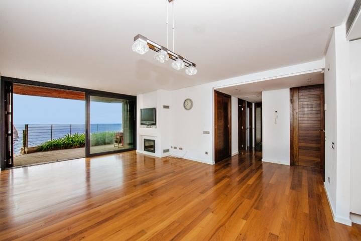 Wohnbereich mit fantastischem Meerblick Apartment Cala Llamp