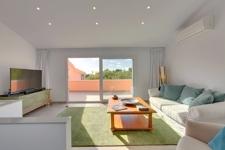 Wohnzimmer in Reihenhaus Costa den Blanes