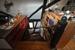 Treppe zum Dachstudio