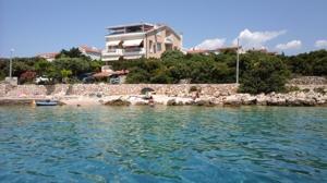 Haus und Strand