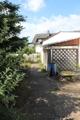 Zugang zum Gartenhäuschen