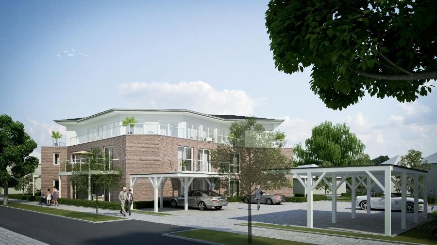 Neubau von 10 Eigentumswohnungen in Schee�el � noch 5 Wohnungen sind frei