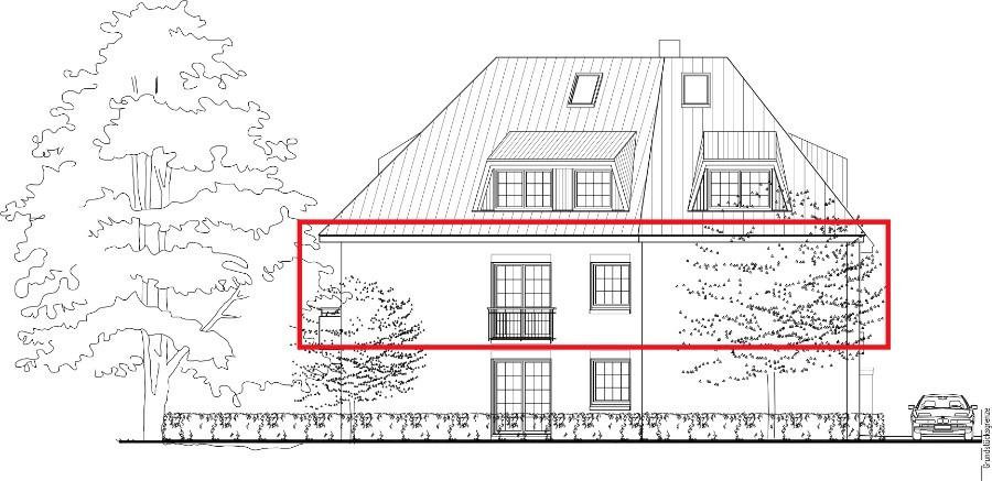 Barrierefreie 4-Zimmer-Neubauwohnung mit Balkon und Fahrstuhl