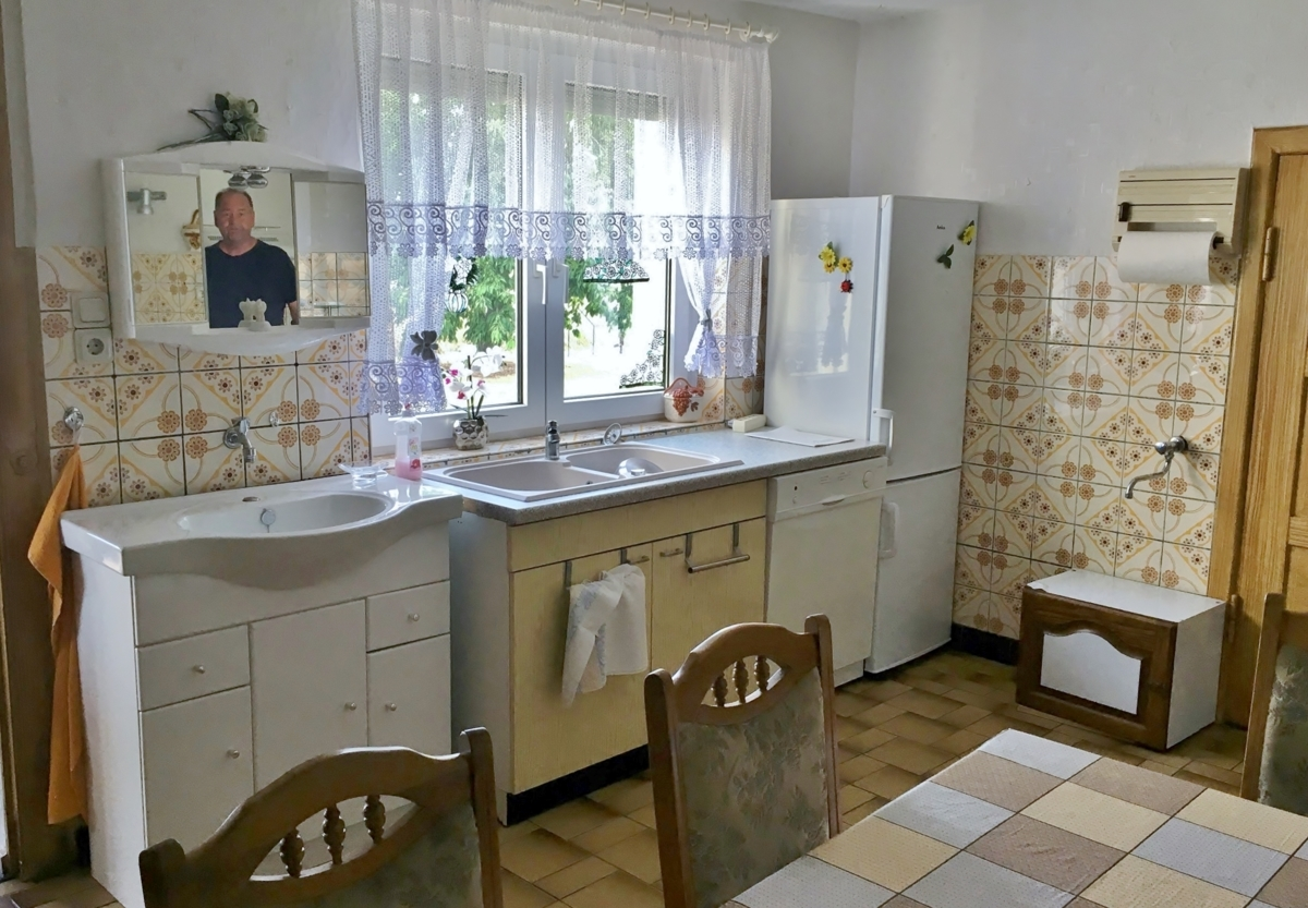 Küche Waschplatz