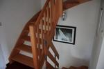 Treppe zum ausgebauten Speicher