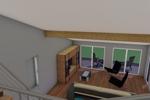 Blick auf de Wohnbereich