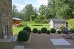 Blick auf Garten