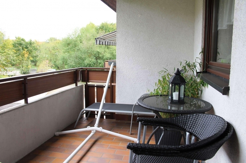 Gemütlicher Balkon ...