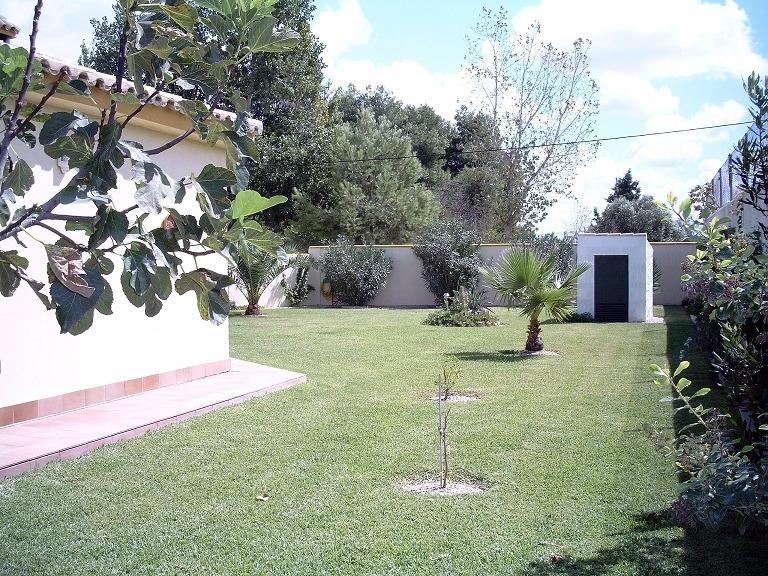 Garten, Haus linke Seite