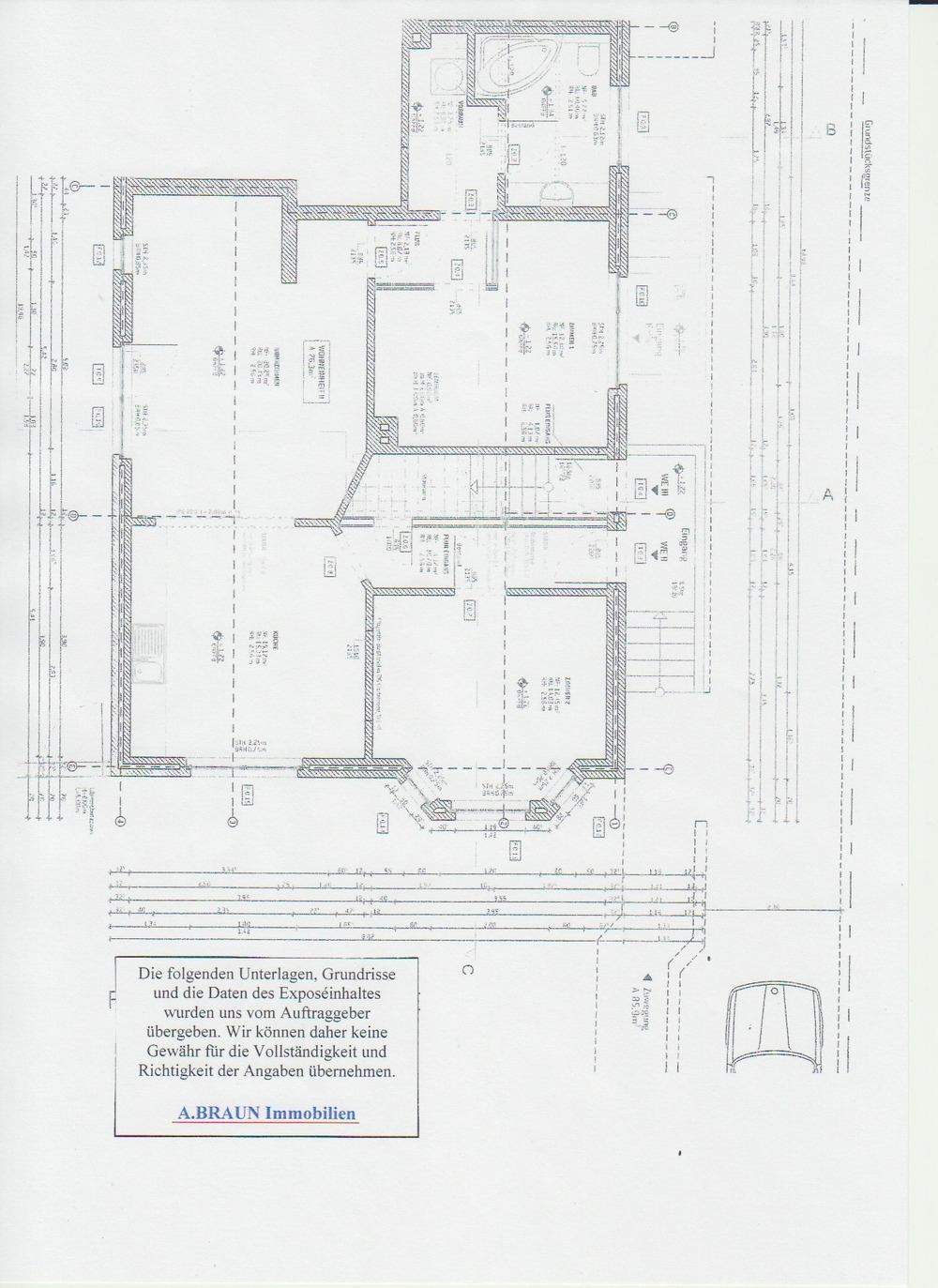 Grundriss 3 Zi. Pi. Str. 91
