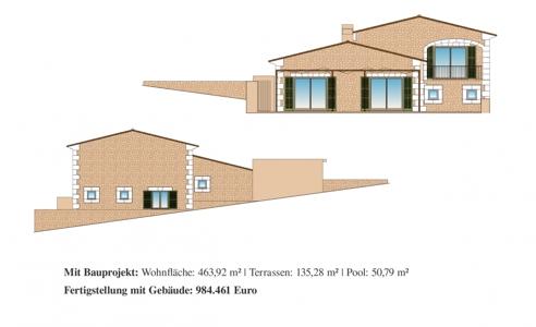 Grundstück inkl. Bauprojekt