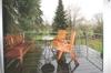 WZ-Terrasse im Regen