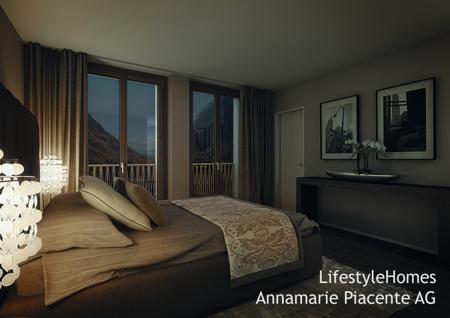 Schlafzimmer Pontresina