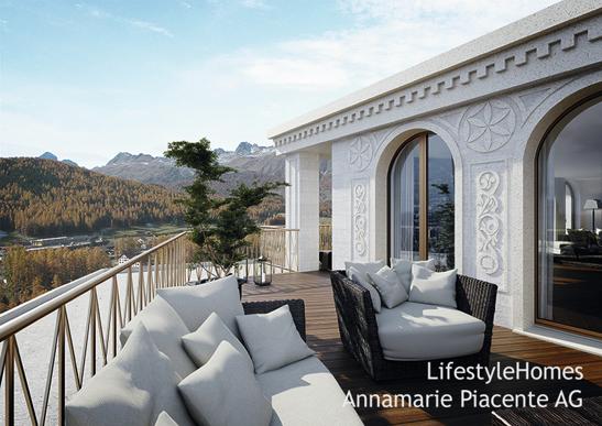 Bild 2/5: terrace Pontresina